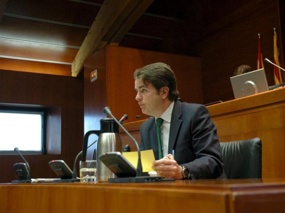 Roberto Bermúdez de Castro, en las Cortes