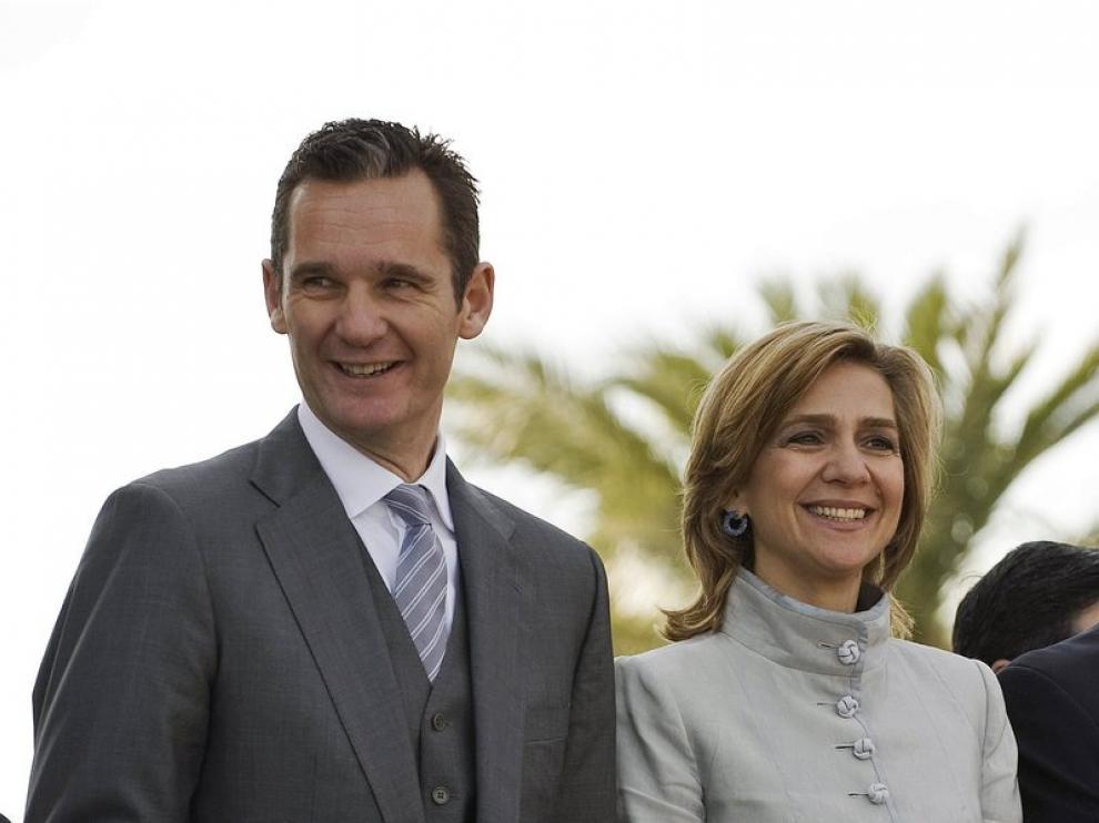 La infanta y el duque de Palma en una imagen de archivo