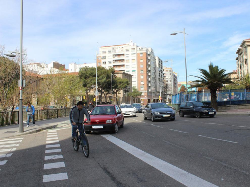 Tráfico en Zaragoza