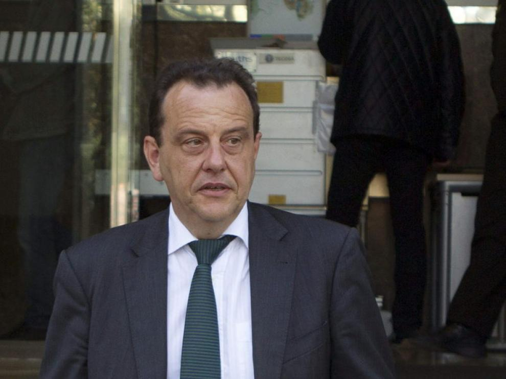 El fiscal Pedro Horrach minutos antes de presentar el recurso
