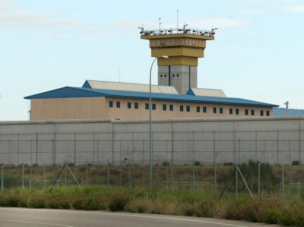 Imagen del exterior de la cárcel de Zuera