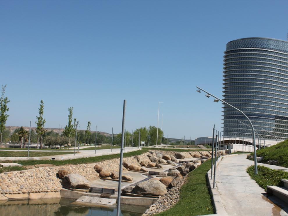 La Torre del Agua, en Zaragoza.