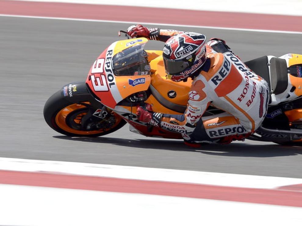 Márquez se impuso en el circuito de Austin