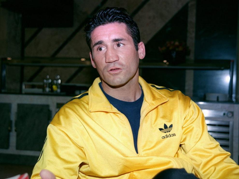 El exboxeador Policardo Díaz