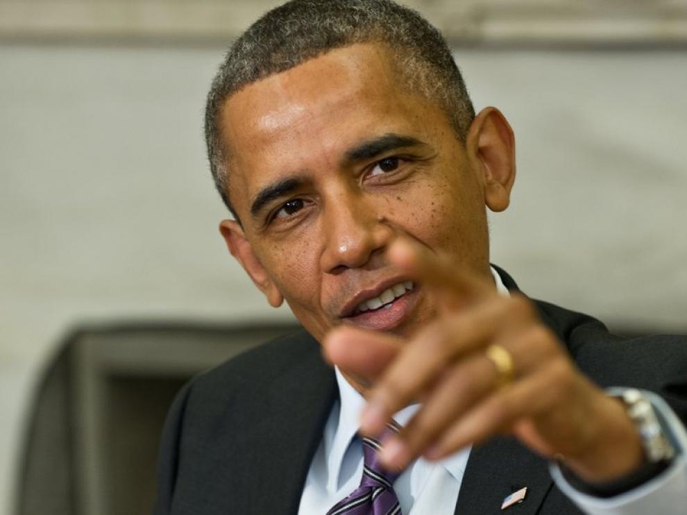 El presidente de EE. UU., Obama