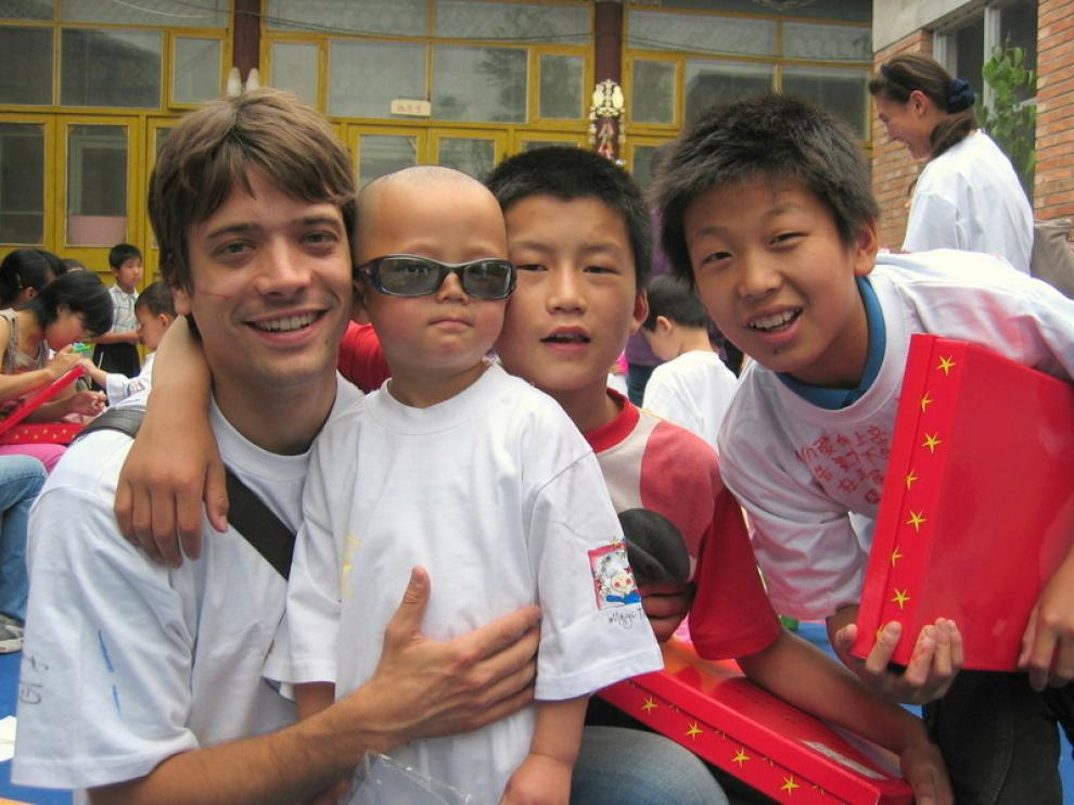 Rafael Peinado en China