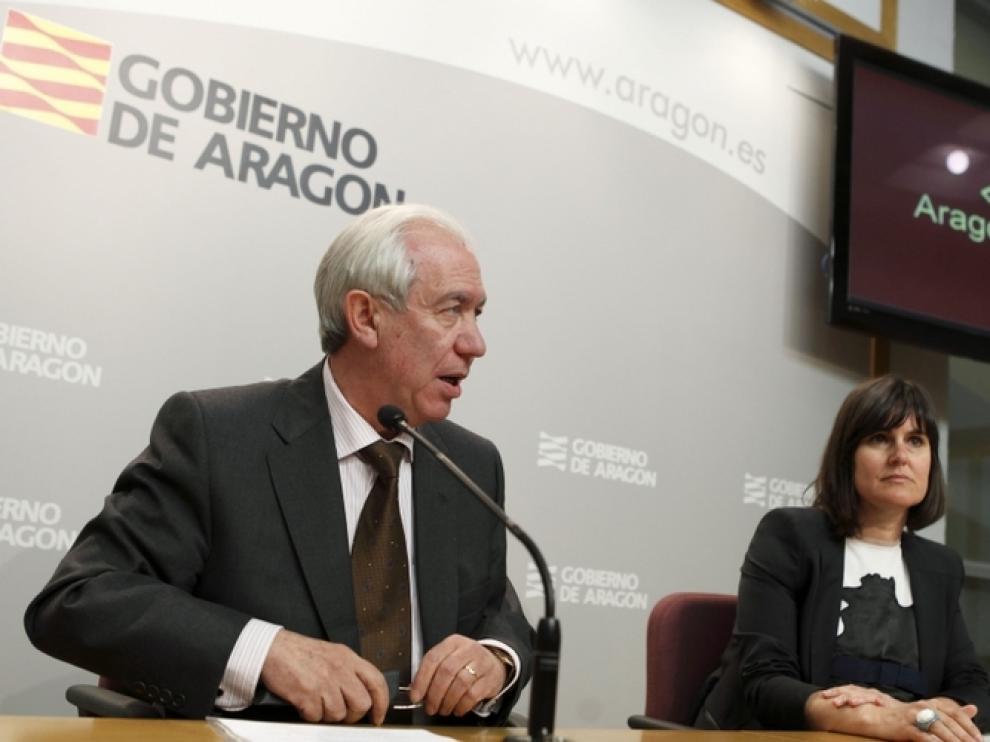 Francisco Bono y Elena Allué