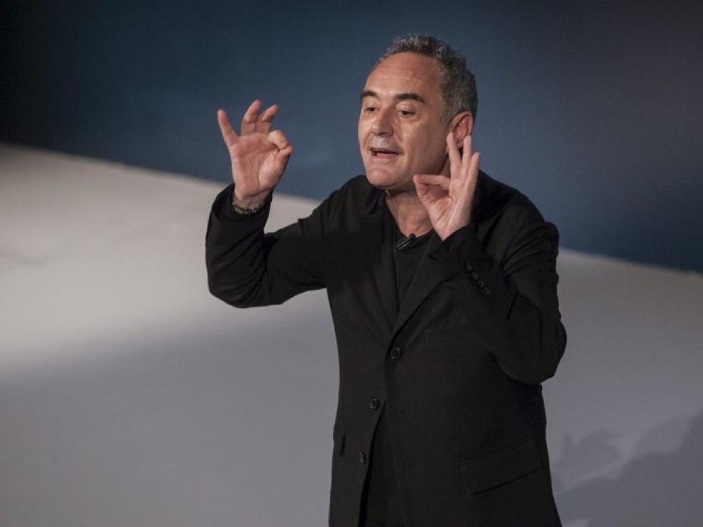 Ferran Adriá en Zaragoza