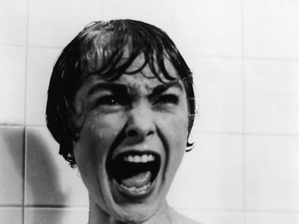 Escena de la mísica película 'Psicosis' de Alfred Hitchcock.