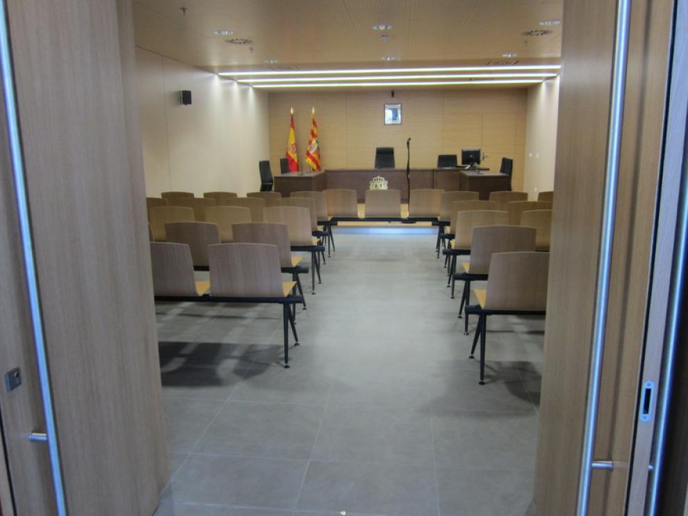 Este fin de semana se han abierto las puertas de los edificios de la Ciudad de la Justicia de Zaragoza, en el recinto de la Expo.
