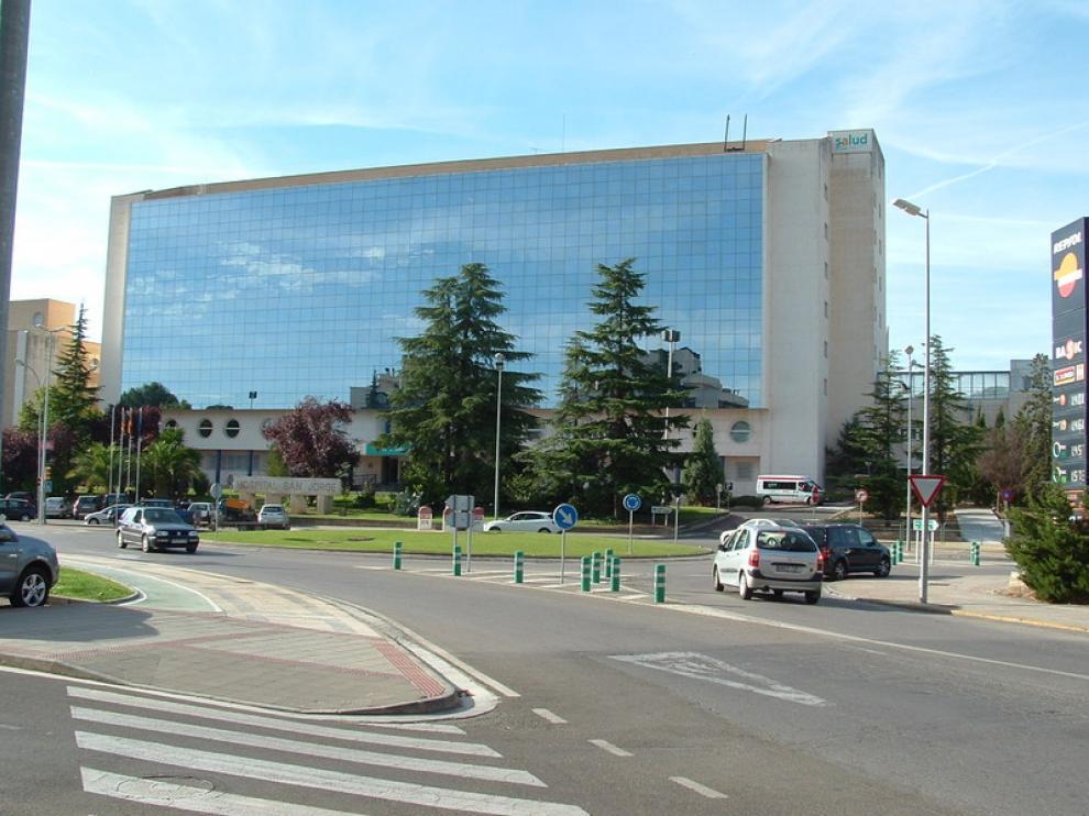 El Hospital San Jorge de Huesca fue la entidadelegida por votación popular para lanzar el cohete.