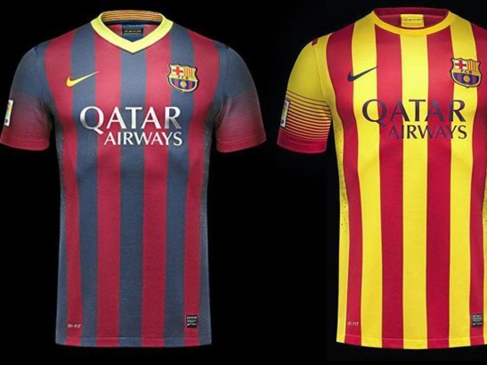 1b9a84ac1 El Barça lucirá la 'senyera' en su segunda equipación
