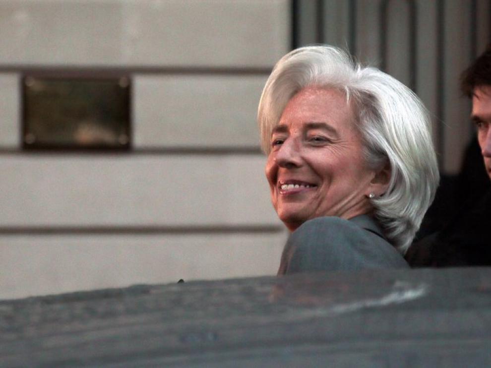 Lagarde, satisfecha