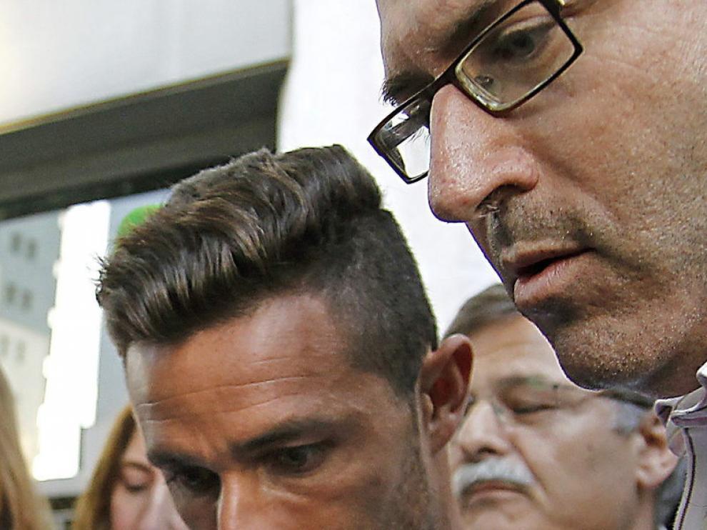 Rubén Castro, a la salida de los Juzgados