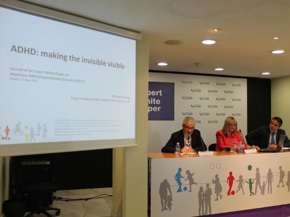 El llamado Libro Blanco sobre déficit de atención e hiperactividad se presentó el pasado mes de junio en Madrid.