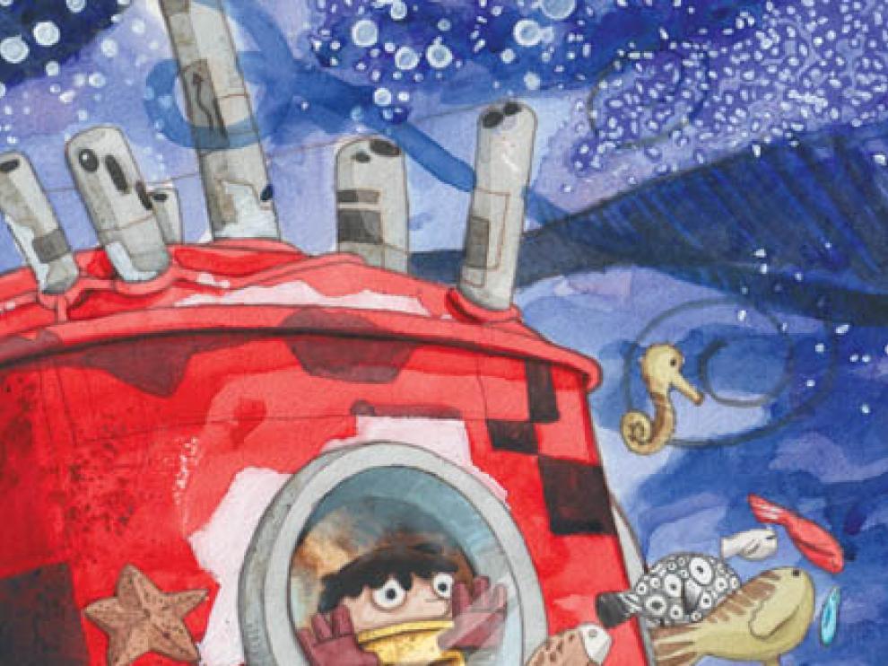Ilustración de 'El batiscafo'