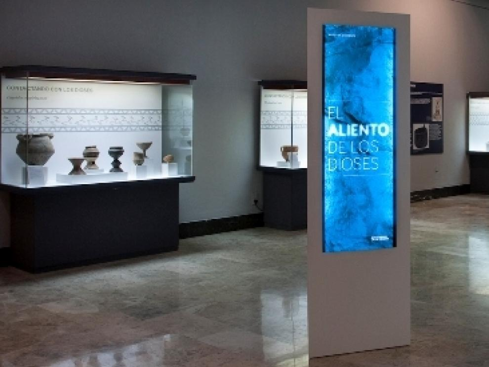 'El aliento de los dioses' en el Museo de Zaragoza