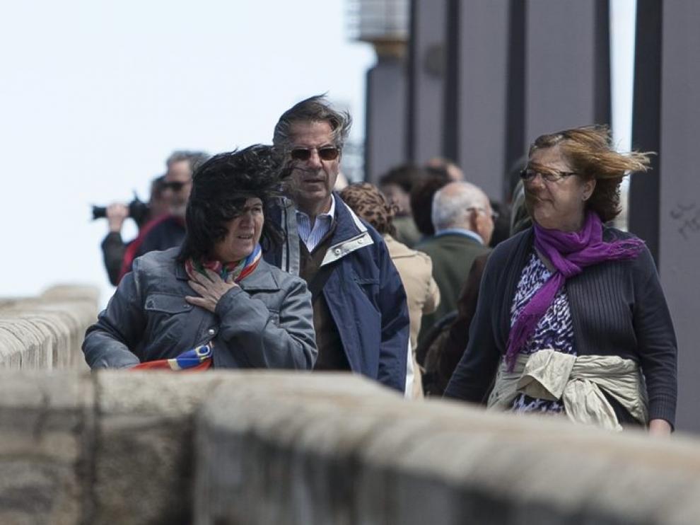 El viento está siendo el protagonista esta semana en Zaragoza