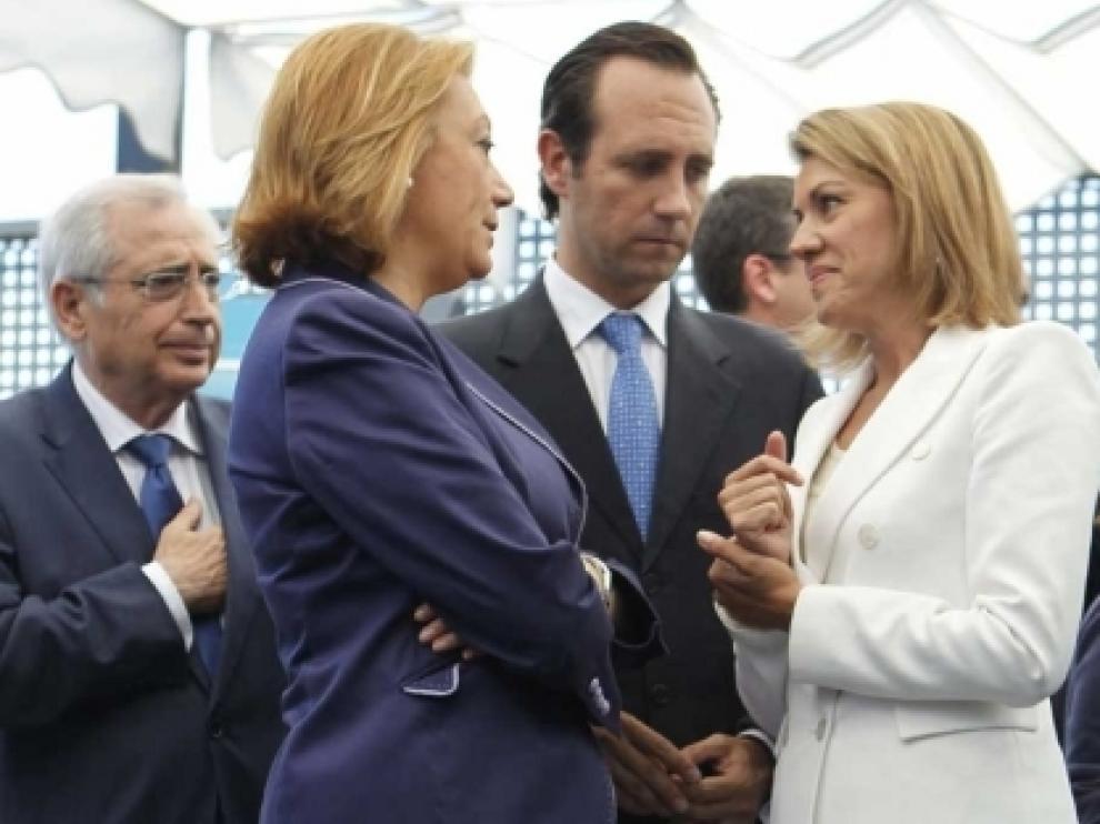 El convenio de atención sanitaria entre C-LM y Aragón pasará por las Cortes y será firmado por Cospedal y Rudi