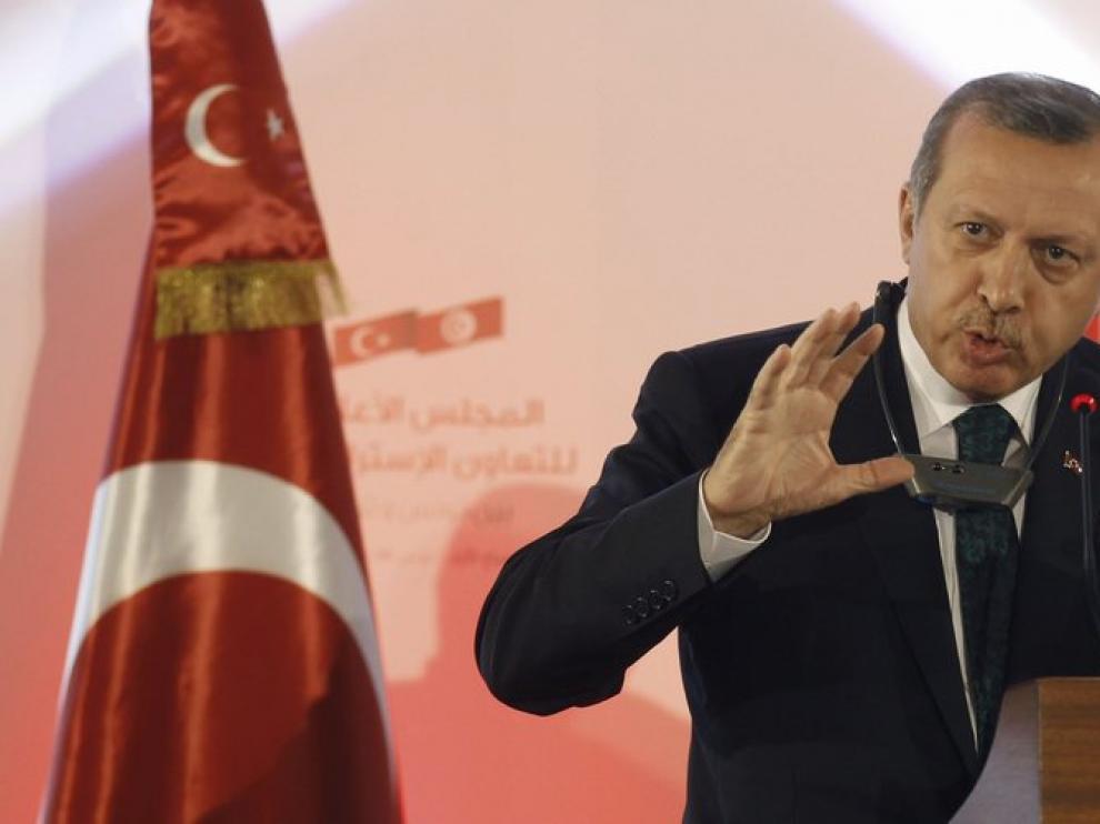 El primer ministro turco