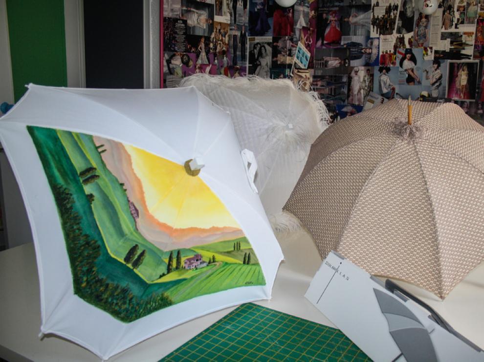 Algunas de las creaciones de 'Solbrillas'