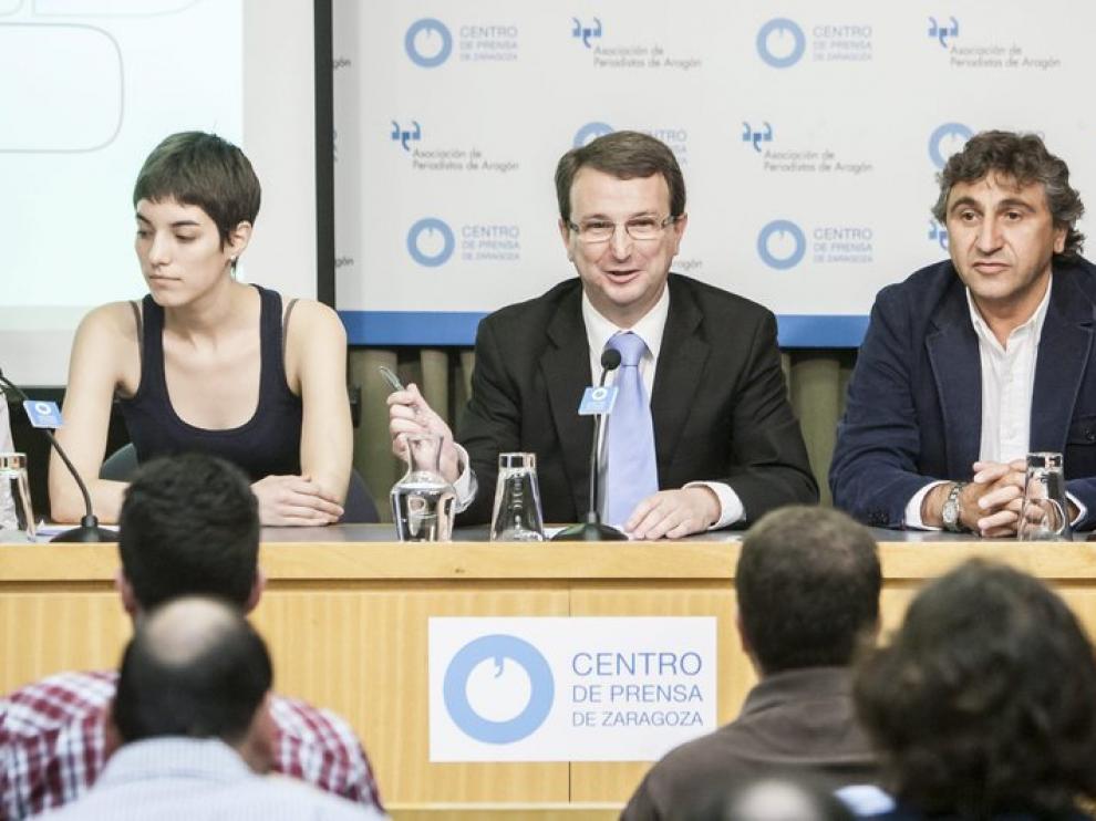José Antonio Visús en rueda de prensa
