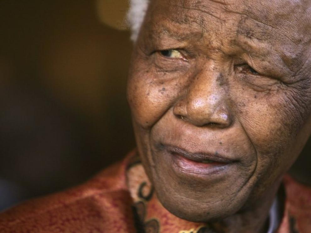 Nelson Mandela en una imagen de archivo