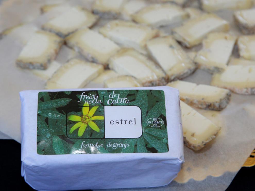 Estrell Fresneda, mejor queso de Aragón 2013 en Biescas