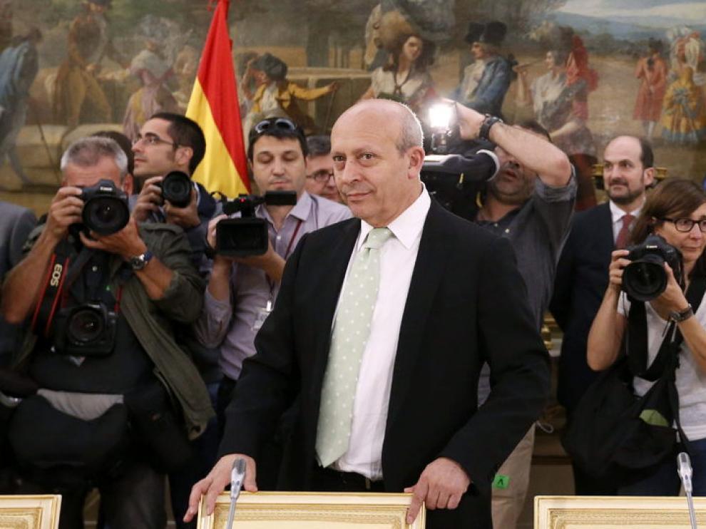 El ministro Wert en una imagen de archivo