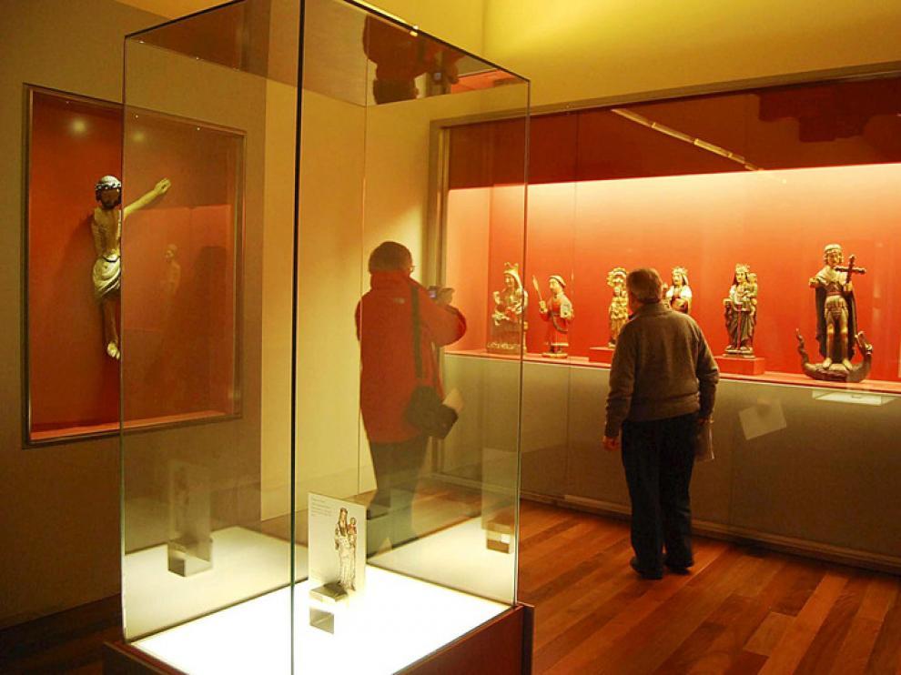 El Museo Diocesano de Barbastro guarda su sitio a las piezas retenidas en Lérida