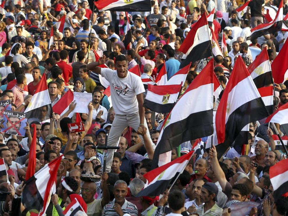 Protesta contra Mursi