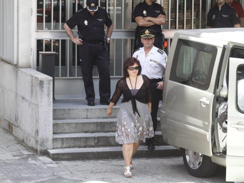 Ruth Ortiz abandona el juzgado tras conocer la sentencia