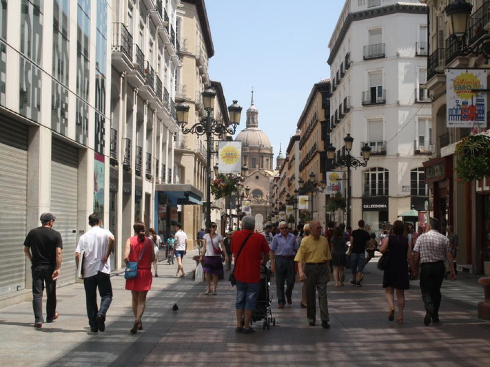 Foto de archivo de la calle Alfonso
