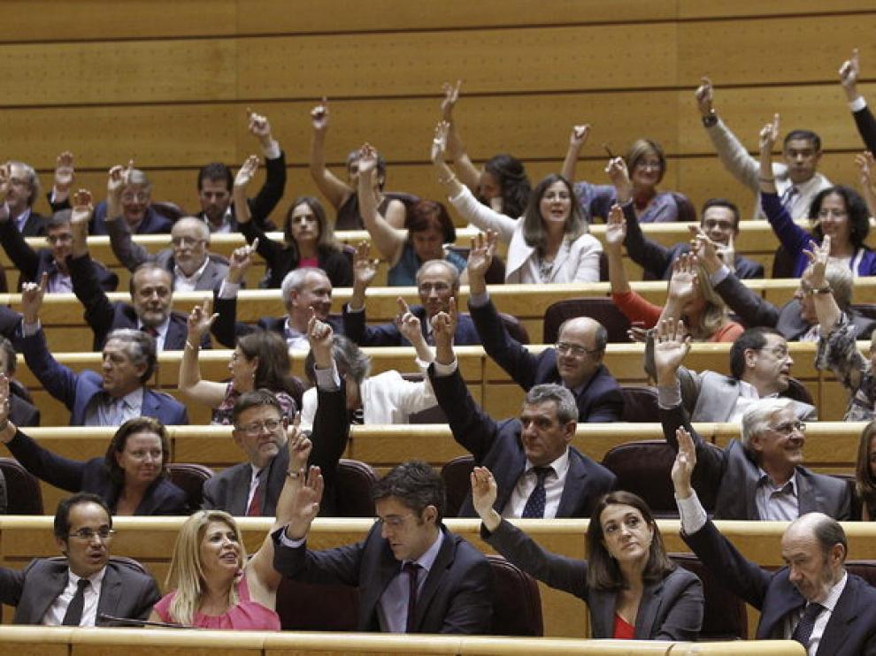 Votación en el Senado