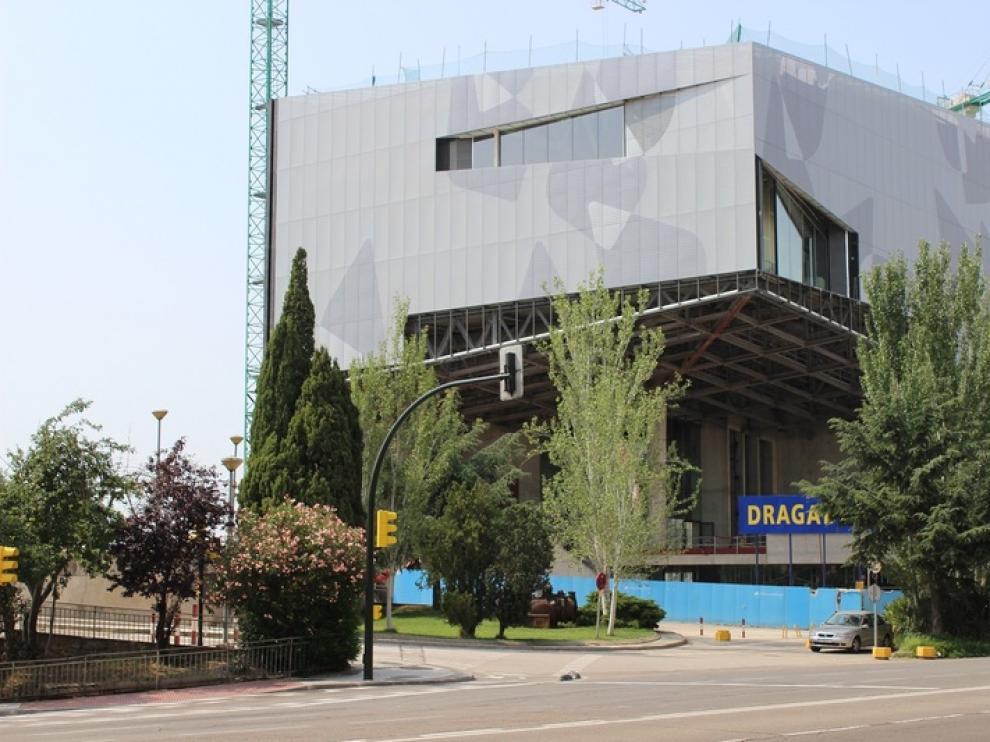 Obras del Caixaforum de Zaragoza