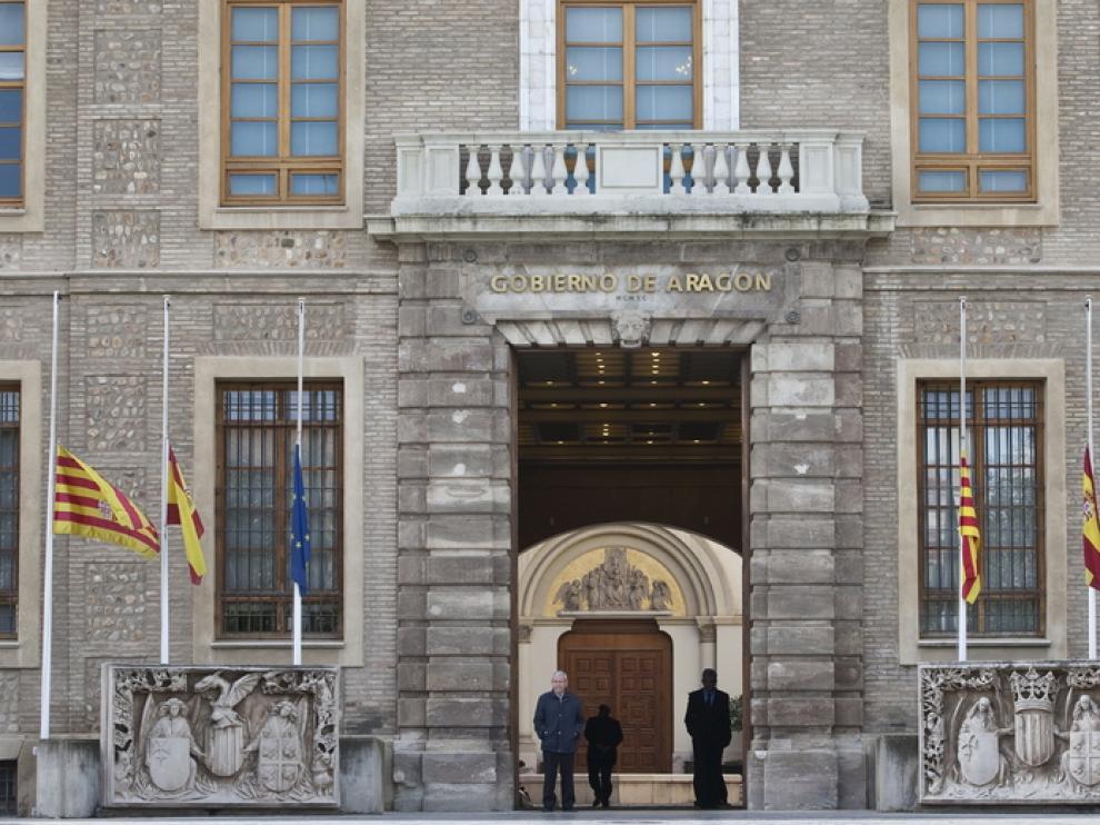 Edificio Pignatelli de la DGA en Zaragoza