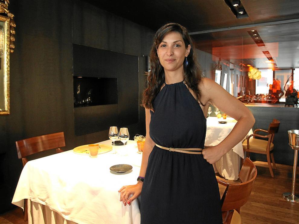 Regina Santamaría, ayer en la sala del Can Fabes, explicó por qué se echa el cierre