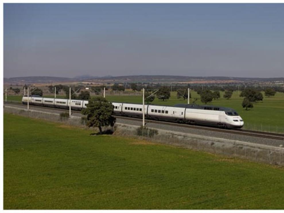 Un tren de AVE de Renfe