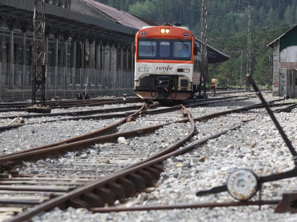 Reivindicaciones por la reapertura de la línea internacional de Canfranc