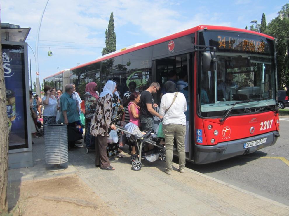 Los usuarios se quejan del servicio de bus