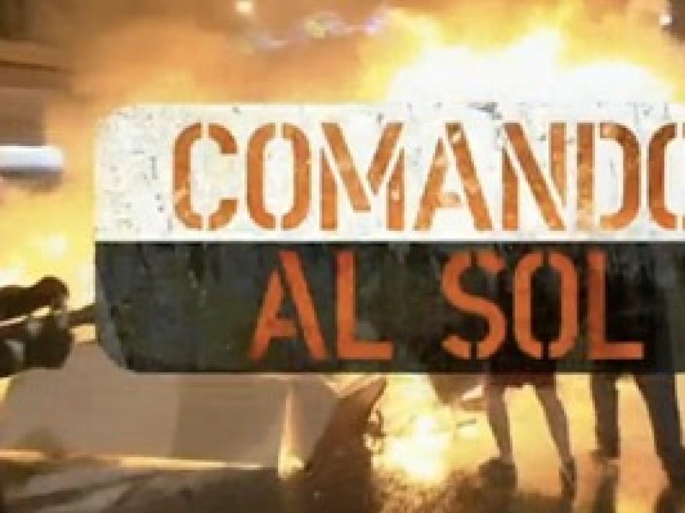 Logo de 'Comando al sol'