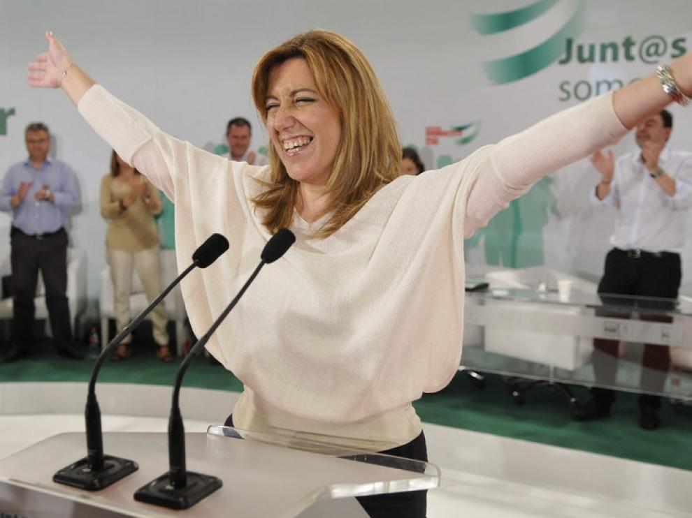 La consejera de la Presidencia y candidata a la Presidencia de la Junta de Andalucía, Susana Díaz