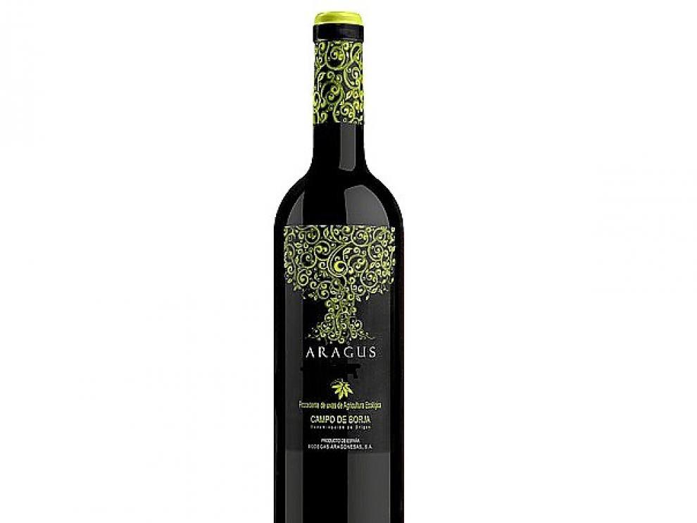 Vino Aragus Garnacha 2012, elaborado por Bodegas Aragonesas (DO Campo de Borja)
