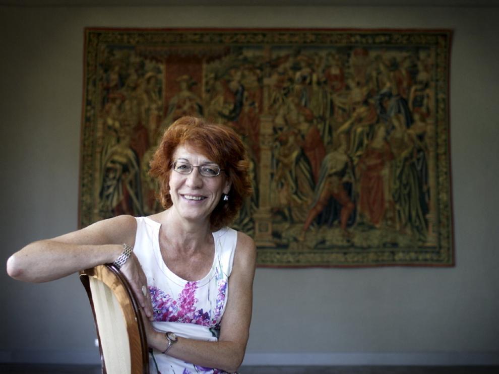 Concha Lomba Serrano, catedrática de Historia del Arte