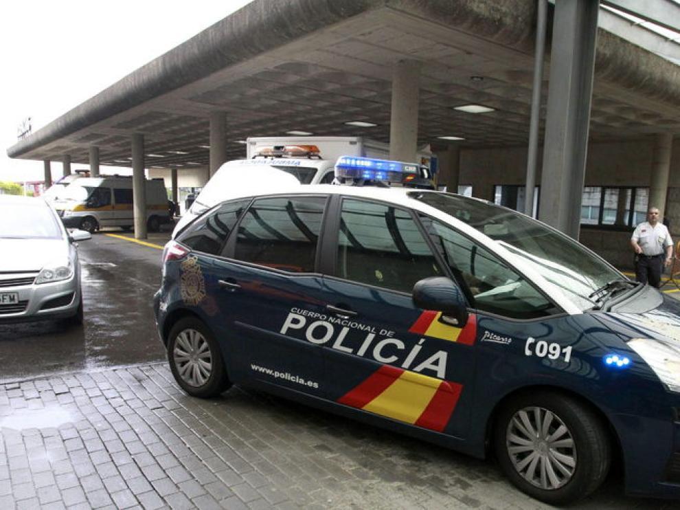 Un coche de la Policía Nacional ha trasladado al maquinista a comisaría