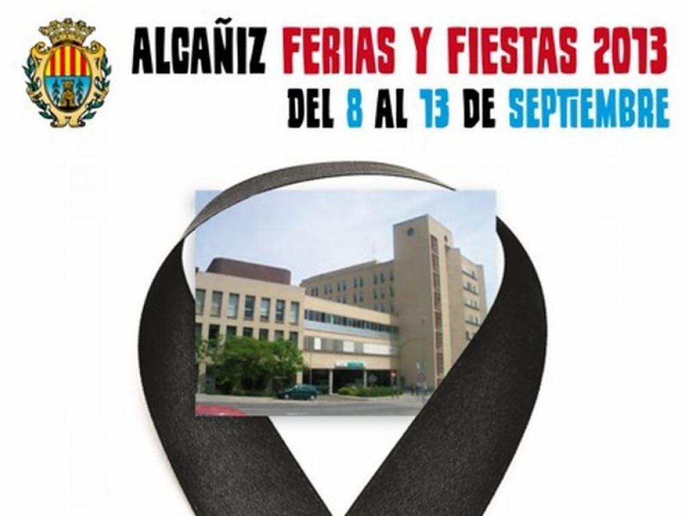 El cartel elegido para las fiestas de Alcañiz