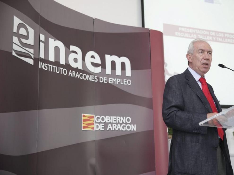 El consejero de Economía y Empleo, Francisco Bono