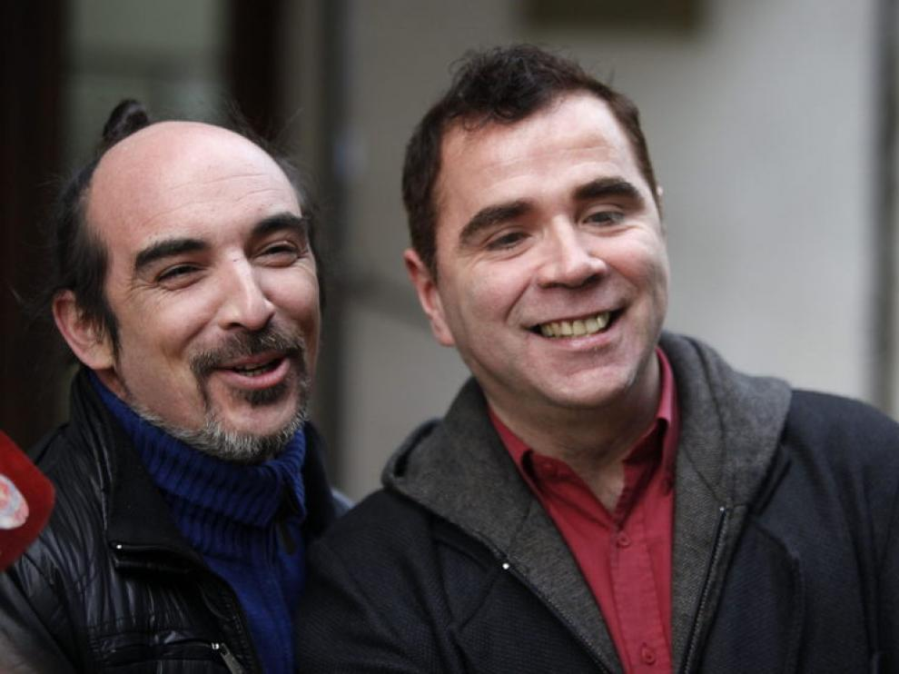 Sergio Miranda y Rodrigo Borda