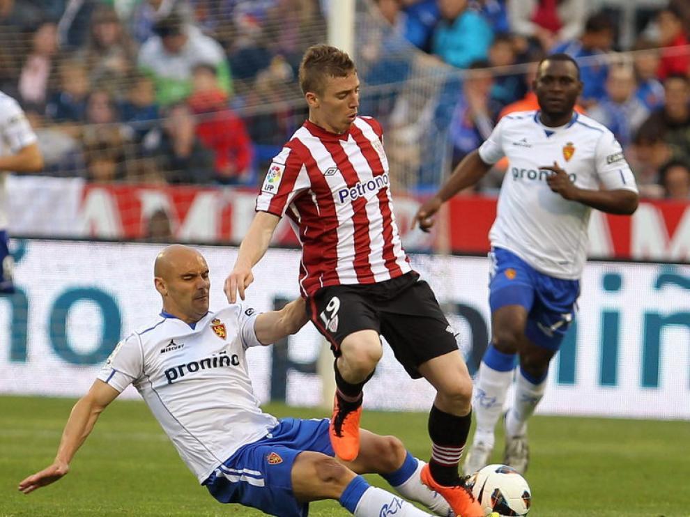 Partido entre el Real Zaragoza y el Athletic de Bilbao