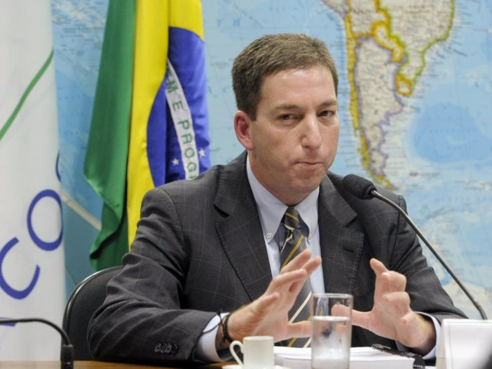 El reportero de The Guardian, Glenn Greenwald.